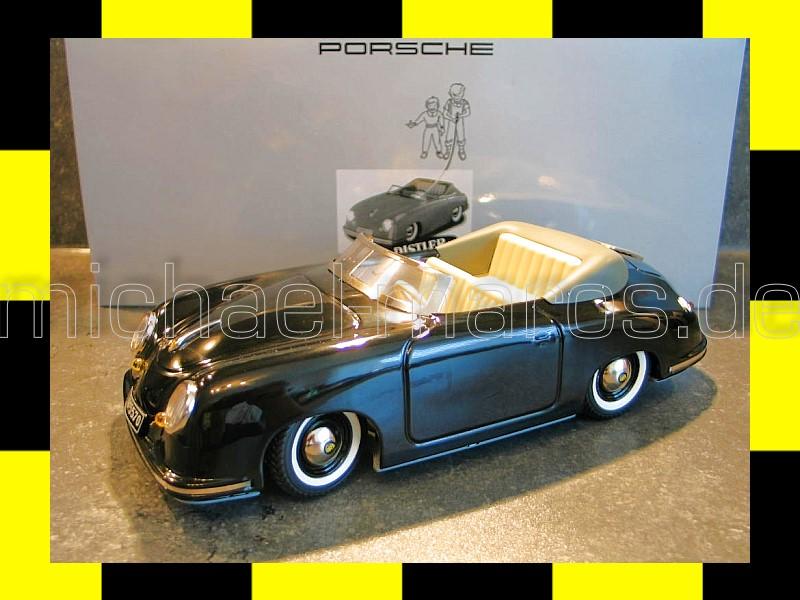 porsche 356 schwarz schuco distler electromatic 7500 promo. Black Bedroom Furniture Sets. Home Design Ideas