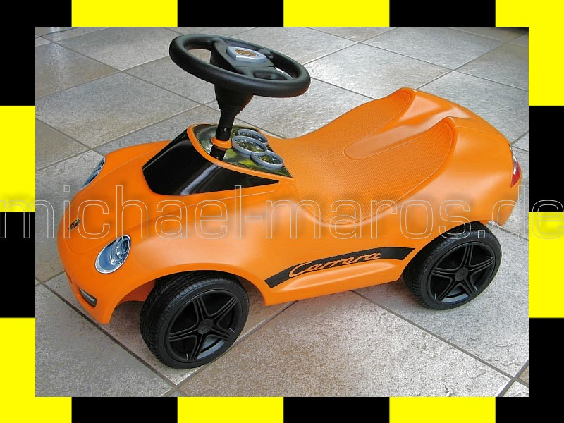 porsche design baby kinder 911 carrera original bobby car sonderfarbe orange big ebay. Black Bedroom Furniture Sets. Home Design Ideas